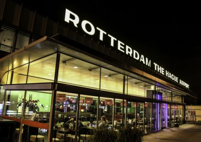 Rotterdam Airport in The Hague